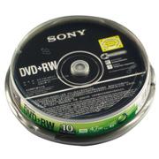 索尼 DVD+RW 4X 空白光盘 盒