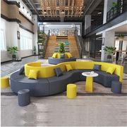 定制  圓形組合沙發 每個扇形1000*500mm(包含6塊扇形)