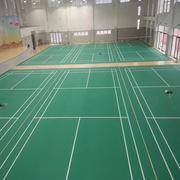 军霞 108M² 羽毛球场地胶 4.5MM厚度,表层为耐磨防滑沙粒纹
