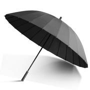国产  雨伞 24骨半径62cm 重量500g 可遮3人 黑色 把