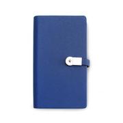 索创 DS04-H722 7寸活页式充电宝U盘笔记本  深蓝色