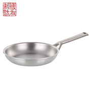 博友制钛 T2-J201 家宴 20煎锅 20cm(直径)*4cm(高) 金属银色