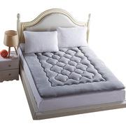 蔻姿 CCD020 加厚法萊絨可折疊保暖床墊 亞伯 150*200cm 1.5m 灰色