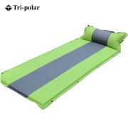 三極 TP1122 單人拼色可拼接氣墊 綠色