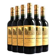 勃兰登堡 乐村典藏六只装 赠开瓶器 干红葡萄酒 750ML*6