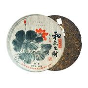 东方甘霖 2009年和气生财普洱熟饼 普洱茶 357g