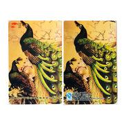 東方甘霖 鐵盒旅游便攜普洱茶(孔雀)兩盒裝 普洱茶 35g*2