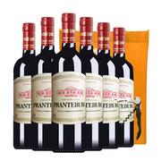 勃兰登堡 典藏六支装 赠橙色无纺布袋开瓶器 干红葡萄酒 750ML*6