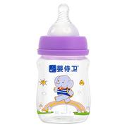 婴侍卫 PP938B 新生儿晶钻玻璃奶瓶套装 140ml+60ml 紫色