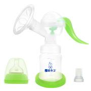 婴侍卫 PP802 轻压式强力吸奶器 集奶奶瓶:210ML 储奶奶瓶:150ML 随机色