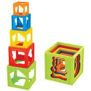 嬰侍衛 C150 DIY歡樂層層疊 正方形5個 隨機色