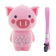 婴侍卫 MY9825 儿童早教故事机可 7*9cm 粉色  爱卡通动物造型小猪款
