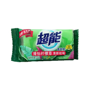 超能  透明皂清怡檸檬草清新祛味 226g/塊 15塊/組