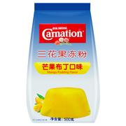 雀巢  三花果冻粉芒果布丁口味500g/袋 2袋/组