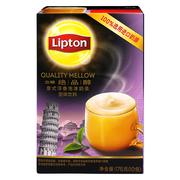 立顿  绝品醇意式浮香泡沫奶茶 175g/盒 5盒/组