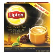 立頓  絕品醇英式金裝奶茶 19g*20包/盒 3盒/組