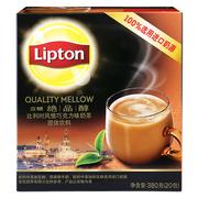 立頓  絕品醇比利時風情巧克力味奶茶S20 380g/盒 3盒/組