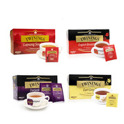 川寧  茶葉組合 500g   豪門伯爵25片+正山小種25片+歐式大吉嶺25片+英式早餐紅茶25片
