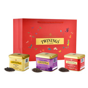 川宁  新意茶叶礼盒 100g+100g+100g   经典早餐红茶100g+经典伯爵红茶100g+大吉岭红茶100g