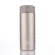 qut FQT503-45 美國庫特雙層不銹鋼高真空保溫茶濾養生杯 450ml 金色