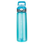 qut TTT703-700 美國庫特700ml提手彈蓋吸管運動瓶 700ml 藍色
