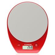 沃萊 KP603 電子廚房秤 200*160*28mm 紅色