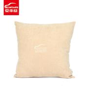 爱车屋 I-111A 舒适抱枕 45*45CM 米色 14个/箱,PVC胶袋+彩卡