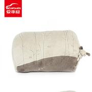 爱车屋 T-009D 舒适腰枕 40*29*16CM 灰白色 18个/箱,PVC胶袋+彩卡