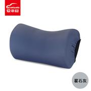 愛車屋 I-601MV-H 7°太空棉溫柔枕 30.5*19*15.5CM 灰色 20個/箱,PVC膠袋+彩卡