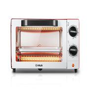 东菱 TO-610H 电烤箱 335×290×205mm 大红色  迷你烤箱