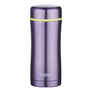 膳魔師 TCCG-400 PL 高真空不銹鋼保溫杯 6.8cmX6.8cmX18.3cm 紫色