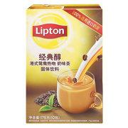 立頓  經典醇港式鴛鴦熱吻奶茶味S10 175g/盒 5盒/組