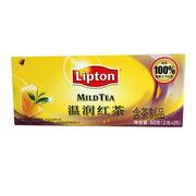 立顿  温润红茶S25 50g/盒 6盒/组
