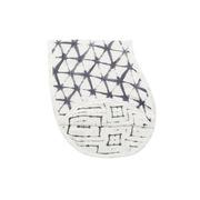 aden+anais 9415 多功能竹棉护肩口水巾卵石扎染 - 立方体