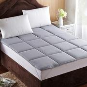 蔻姿 CCD00002 纯色可折叠无痕床垫赛尔特 150*200cm 灰色 蛇皮编织袋