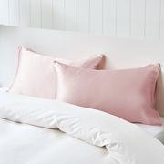 考拉工廠店  經典雙面真絲美膚枕套 100%桑蠶絲 嫣粉色
