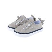 Timmy Spirit  儿童小鱼鳍帆布学步鞋12-24个月 灰色 140毫米