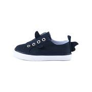 Timmy Spirit  儿童小鱼鳍帆布学步鞋12-24个月 黑色 150毫米