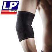 LP 759KM_F 多孔运动用可调式护肘  黑色
