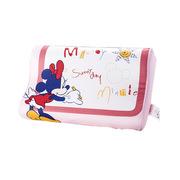 迪士尼 KDB-301 儿童全棉印花婴儿记忆枕 写字米妮 40*25*8-5cm 粉红色