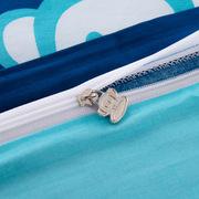 大嘴猴 PF0016TJ 全棉四件套40S魔术师  海蓝色  被套:200*230cm床单:230*250cm枕套:48*74cm