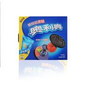 奧利奧  繽紛雙果夾心餅干藍莓味+樹莓味 388g*3   早餐休閑零食蛋糕糕點