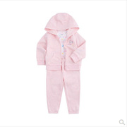 carter's  外套+裤子+连体衣套装6-24个月 85cm 粉色