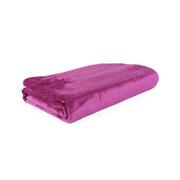 Brookstone  单人毯子  小毛毯 50×70厘米 淡紫色