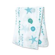 lulujo 竹棉嬰兒襁褓包巾 心心相印 120*120 彩色