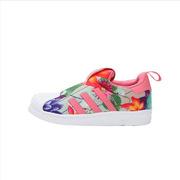 ADIDAS  女小童(4-8岁)三叶草-经典鞋  CQ2550 30.5码 18厘米 粉色
