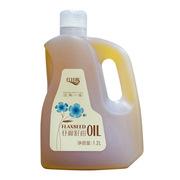 红井源  压榨一级亚麻籽油 1.2L*3
