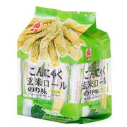 北田  蒟蒻糙米卷 海苔味 160g*8
