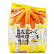 北田  蒟蒻糙米卷 蛋黃味 160g*8