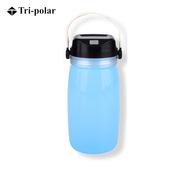 三极 TP2219 户外多功能太阳能充电漂流瓶水杯野营帐篷灯  蓝色